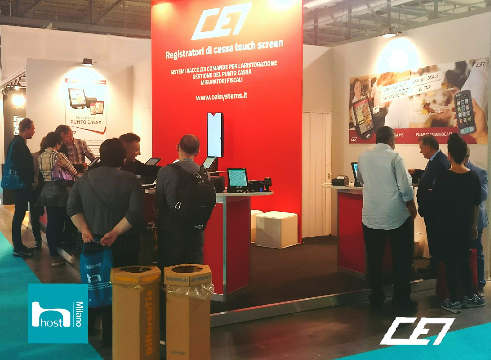 Stand CEI Systems a Host 2017