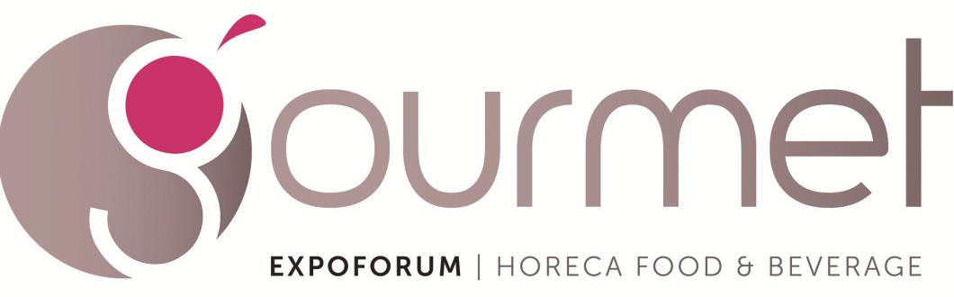 Il logo della fiera Gourmet Expoforum 2018