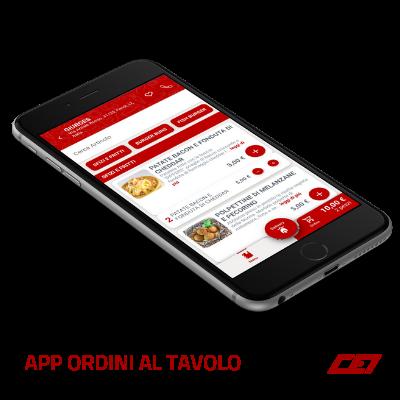 App Ordini al Tavolo