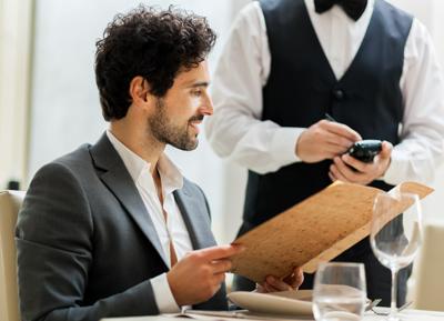 palmare per ristoranti